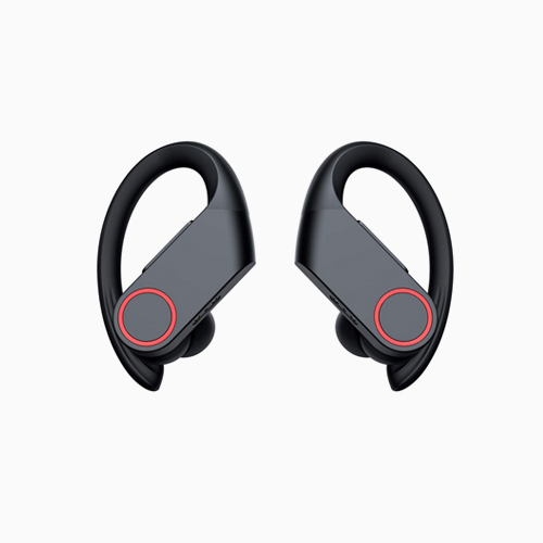 W4 Wireless Earbuds, Headphones TWS AptX Stereo Sound with Deep Bass 8-10H Continuous Playtime Earbuds CVC 8.0 Noise Cancellation IPX6 Waterproof in