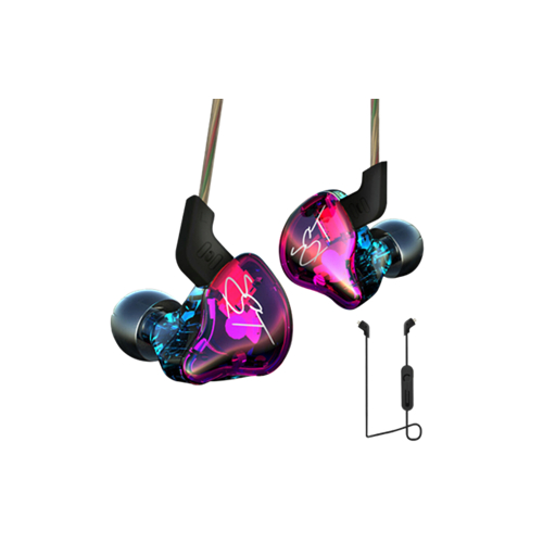 E13 Earphones 1DD+1BA Driver Dynamic & Armature in Ear Monitors Noise Isolating HiFi Music Sports Earbuds Headset